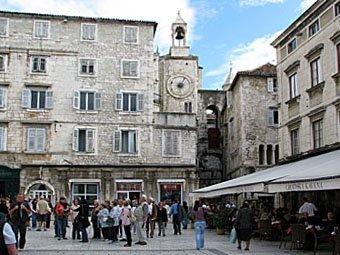 Platz in Split