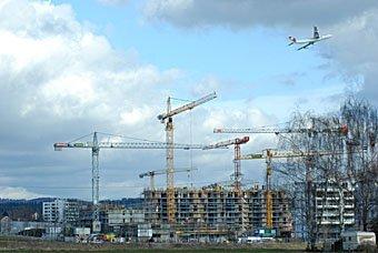 Baustelle Leutschenbach Zürich