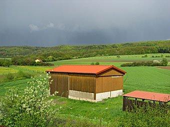 Scheune in der fränkischen Schweiz