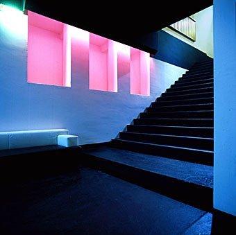 Treppeneingang im Untergeschoss