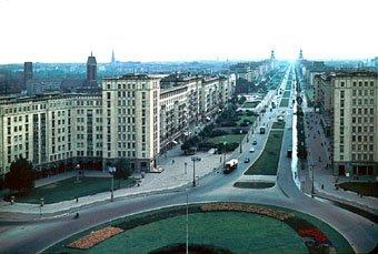 Ost-Berlin (DDR), Stalin Allee 1964