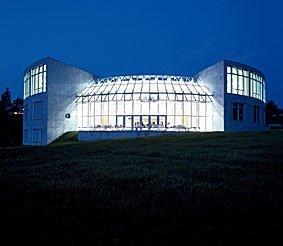 Hochschule St.Gallen bei Nacht