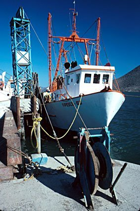 Fischerboot, Mexico