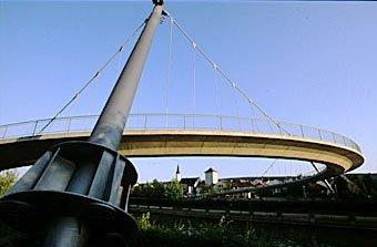 Brückenkonstruktion Kehlheim an der Donau