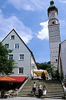 Kirche in Landsberg am Lech