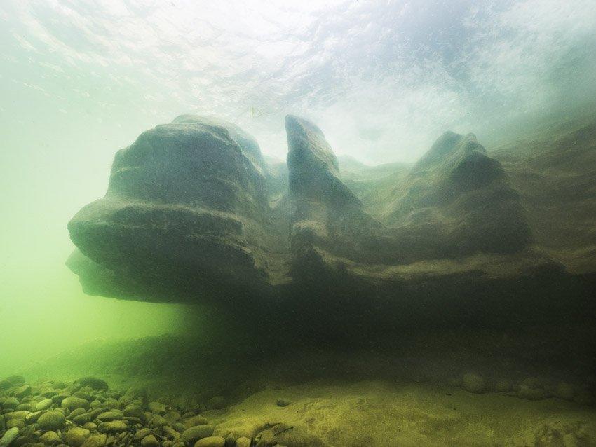 Sandstein-Formation